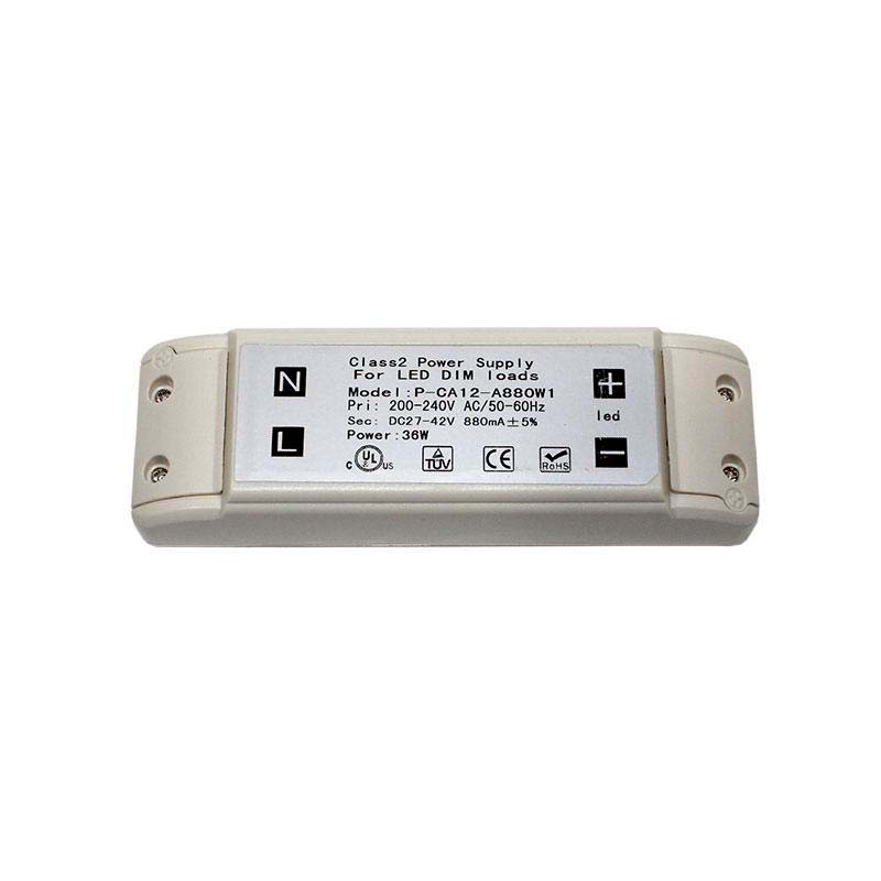 LED Driver TUV DC27-42V/40W/880mA, Regulable, Regulable